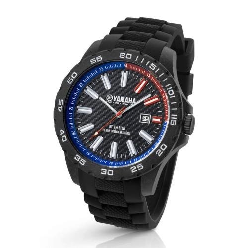 Ρολόι χειρός Yamaha Racing από την TW Steel® Black-40