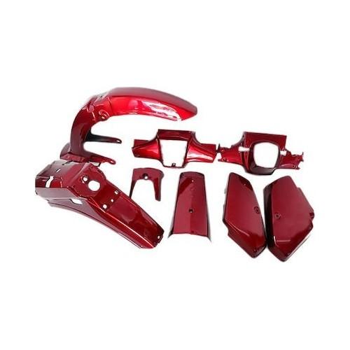 Κουστούμι σετ πλαστικά για Honda GLX Βυσσινί
