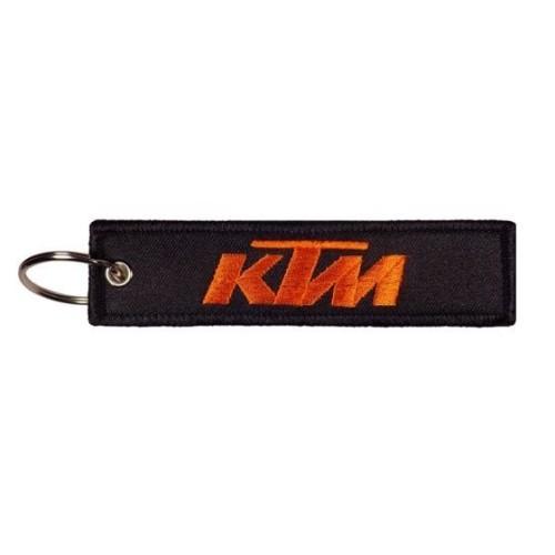 Υφασματινο μπρελοκ KTM με κεντημα FLAT