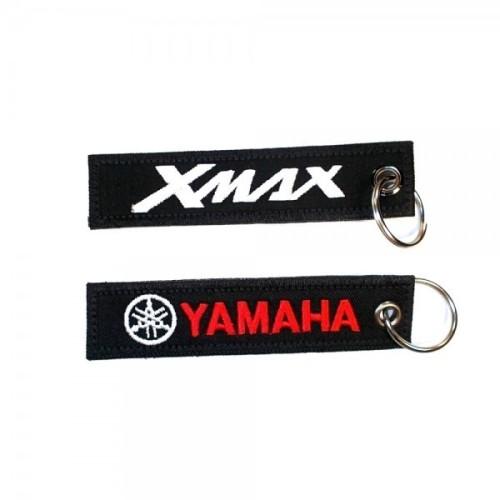 Υφασμάτινο μπρελόκ YAMAHA - X MAX με κέντημα FLAT