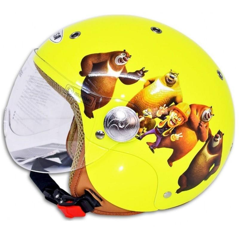 Παιδικό Κράνος Corsa CX300 Luney Tunes Κίτρινο