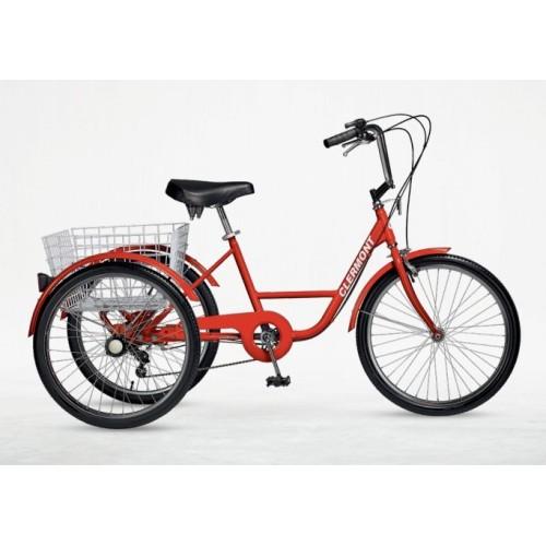 """Τρίκυκλο Ποδήλατο Clermont Adult Trike 24"""""""