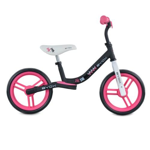Παιδικό Ποδήλατό Ισορροπίας Byox Zig Zag Cangaroo Pink