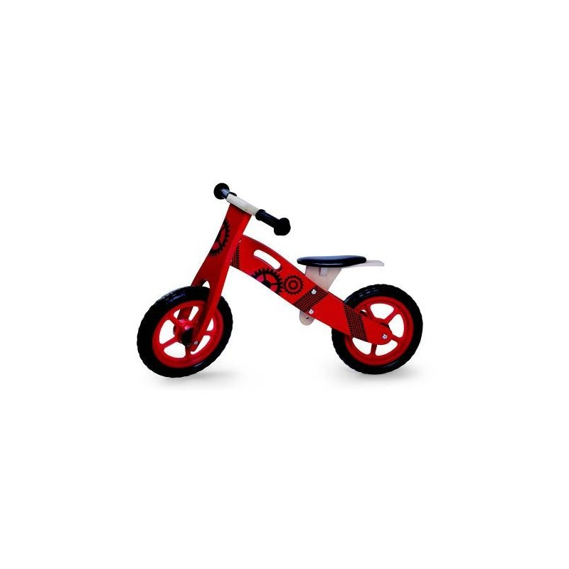 Παιδικό Ξύλινο Ποδήλατό Ισορροπίας Byox 5017 Κόκκινο