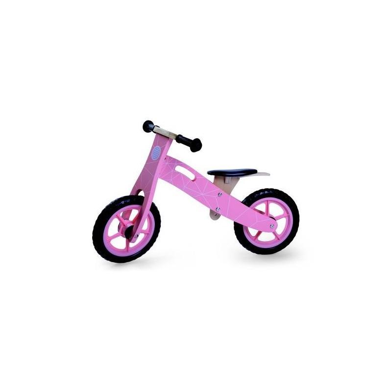 Παιδικό Ξύλινο Ποδήλατό Ισορροπίας Byox 5018 Pink