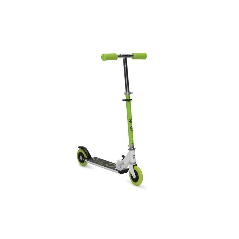 Παιδικό Πατίνι Scooter Δίτροχο Byox Neon Green