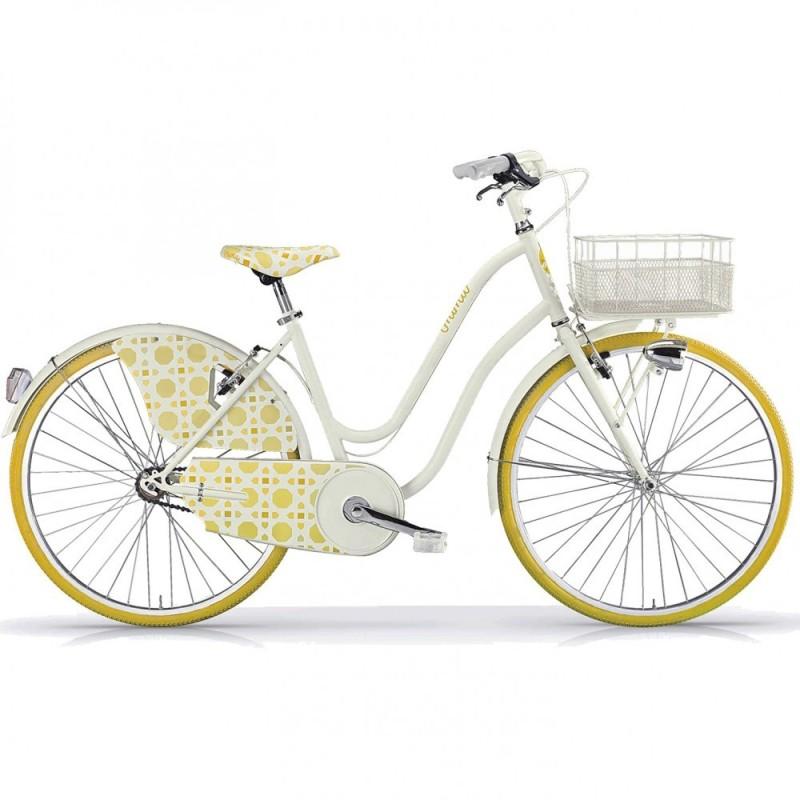 """Ποδήλατο City MBM Nima 26"""" Κίτρινο"""