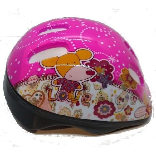 Παιδικό Κράνος Ποδηλάτου PW Pink 52-54cm