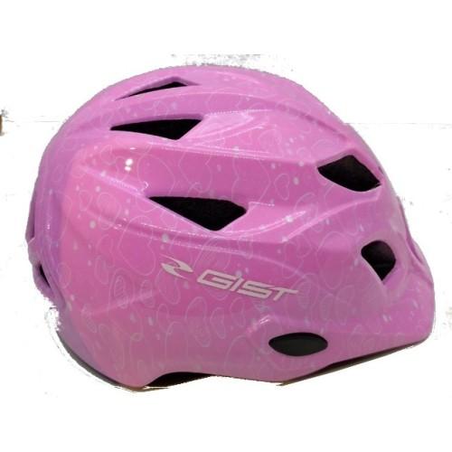 Παιδικό Κράνος Ποδηλάτου Gist WELLY Pink 48-52cm
