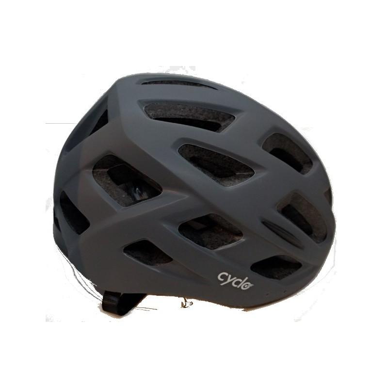 Κράνος Ποδηλάτου Cyclo Grey 58-62cm