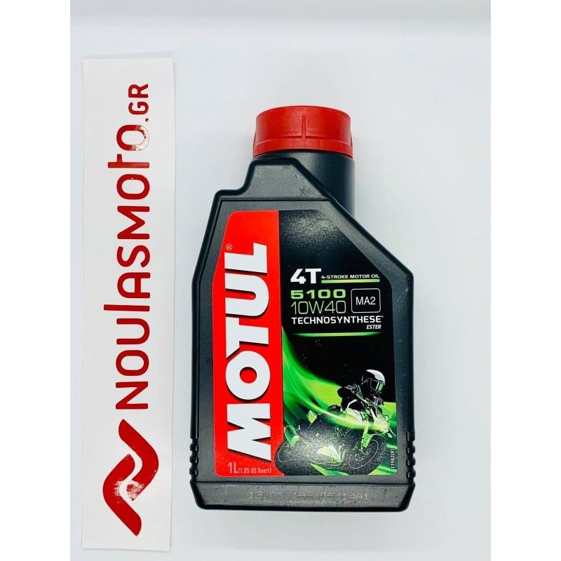Λάδι Μηχανής MOTUL 4T 5100 10W-40 TECHNOSYNTHESE