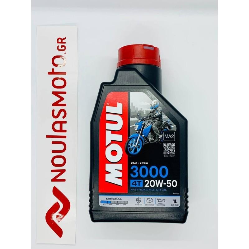 Λάδι Μηχανής MOTUL 4T 3000 20W-50 MINERAL 1LT