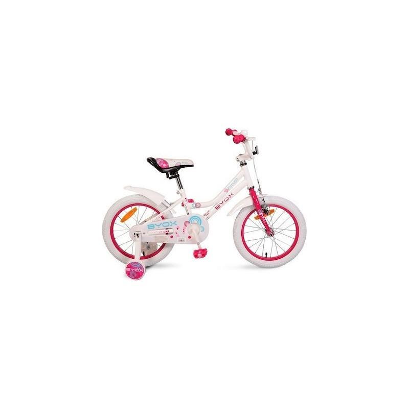 """Παιδικό Ποδήλατο BYOX FREYA 16"""" Pink"""