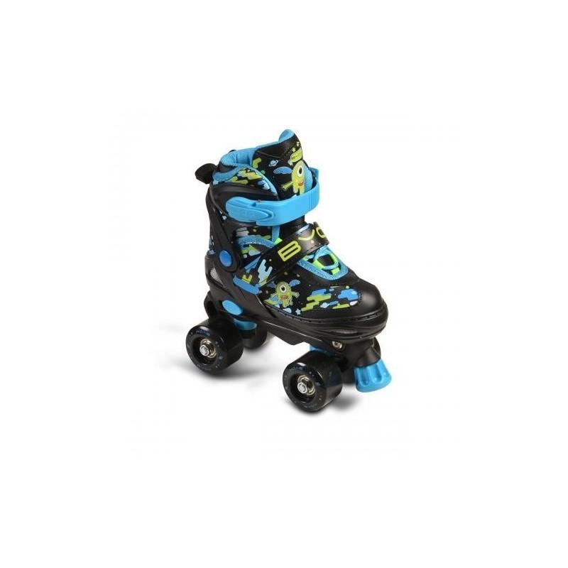Παιδικά Πατίνια Rollers Byox Inline Zax Blue M 34-37