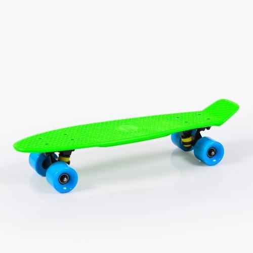"""Παιδικό Πατίνι Byox Skateboard Spice LED 22"""" Green"""