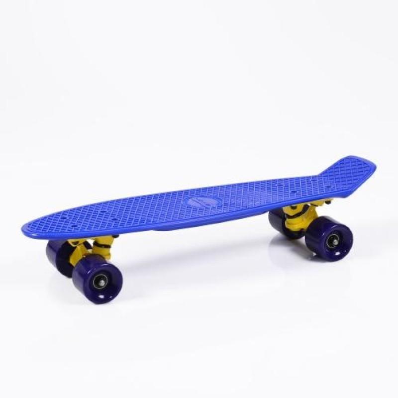 """Παιδικό Πατίνι Byox Skateboard Spice LED 22"""" BLUE"""