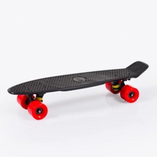 """Παιδικό Πατίνι Byox Skateboard Spice LED 22"""" BLACK"""