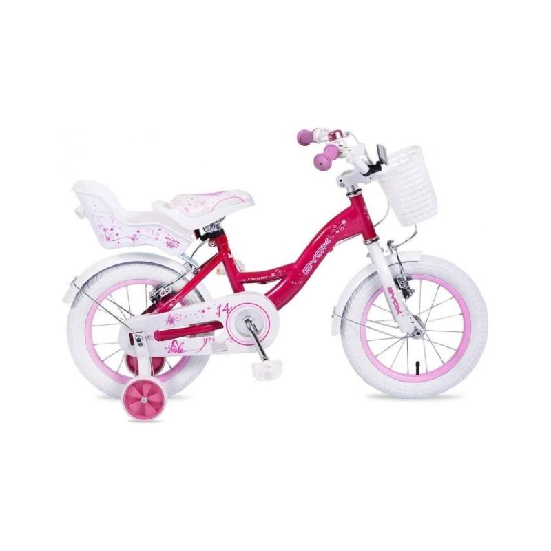 Παιδικό Ποδήλατο BYOX Flower 14'' Pink